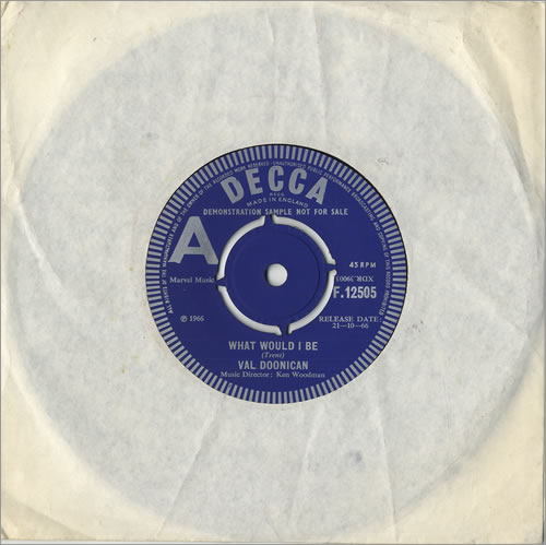 Doonican, Val - What Would I Be Record