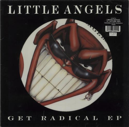 Little Angels Get Radical 1990 UK 12 picture disc LTLXP6