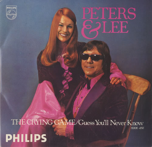 Peters & Lee The Crying Game 1975 UK 7 vinyl 6006480