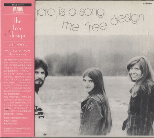Image of The Free Design The Free Design 1999 Japanese CD album TKCB-71827