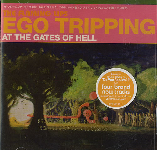 Image of The Flaming Lips Ego Tripping At The Gates Of Hell 2003 USA CD album 48514-2