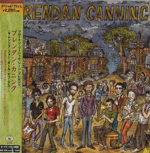 Broken Social Scene Something For All Of Us... 2008 Japanese CD album TECI-21492
