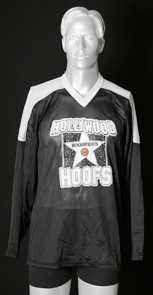 Keanu Reeves Hollywood Hoofs  Medium Hockey Jersey USA clothing HOCKEY JERSEY