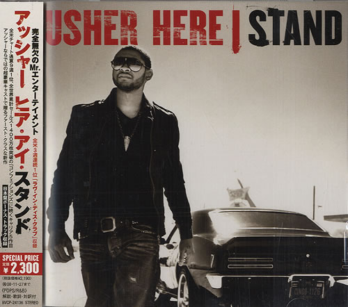 Usher Here I Stand 2008 Japanese CD album BVCP24136