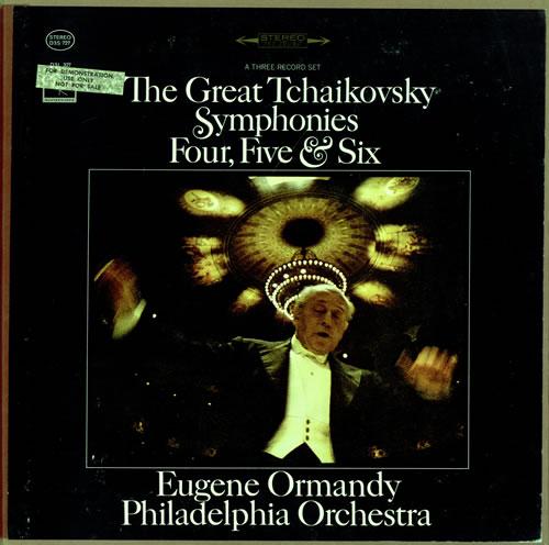The Philadelphia Orchestra Symphonies 4 5 & 6  360 Sound Stereo USA vinyl box set D3S727