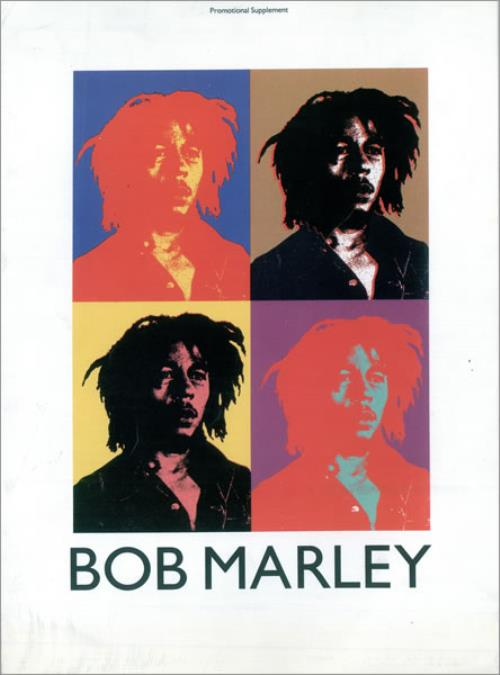 Bob Marley Bob Marley  Music Week Supplement 1991 UK magazine 18 MAY 1991