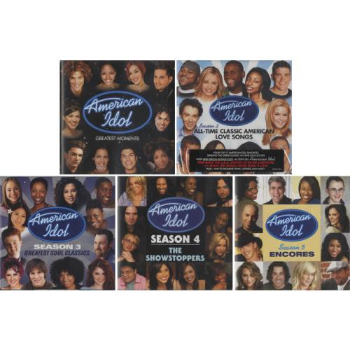 American Idol Finalists The Greatest Moments Of The First Five Years USA 5CD set AMERICAN IDOL