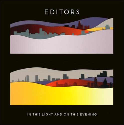 Editors In This Light And On This Evening 2009 UK CD album KWCD43