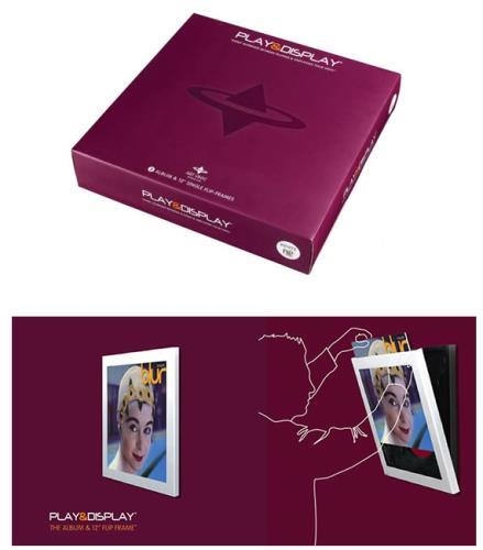 """Image of Art Vinyl/Artvinyl Play & Display Album Flip Frame White Play & Display Album & 12"""" Flip Frame -Pack of 9 2009 UK Art Vinyl P&D Frame"""