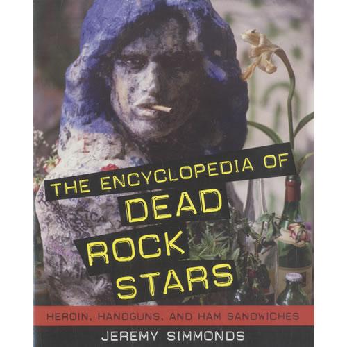 VariousRock & Metal The Encyclopedia Of Dead Rock Stars 2008 USA book 9781556527548