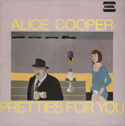 Alice Cooper Pretties For You 1969 UK vinyl LP STS1051