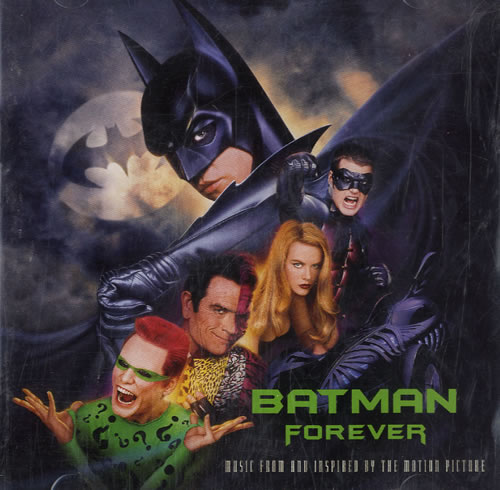 Image of Batman & Robin Batman Forever 1995 USA CD album 82759-2