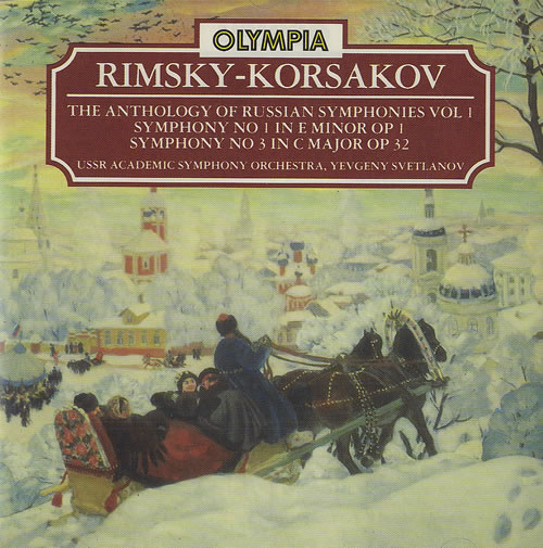 The Anthology Of Russian Symphonies Vol 1
