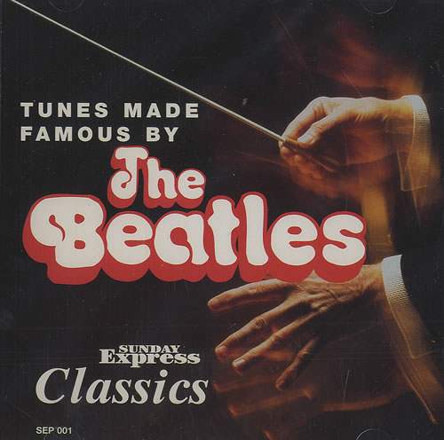 The Beatles Beatles Symphony Tunes Made Famous By The Beatles UK CD album SEP001
