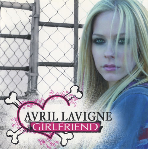 Avril Lavigne Girlfriend  Clean Version 2007 Japanese CDR acetate CDR