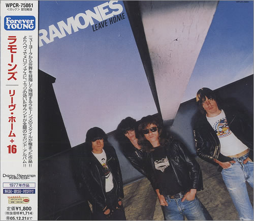 The Ramones Leave Home 2005 Japanese CD album WPCR75061