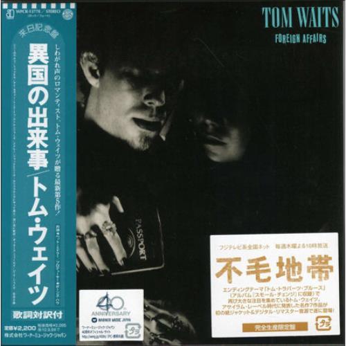 Waits, Tom - Foreign Affairs CD