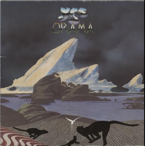 Yes Drama 1980 German vinyl LP ATL50736
