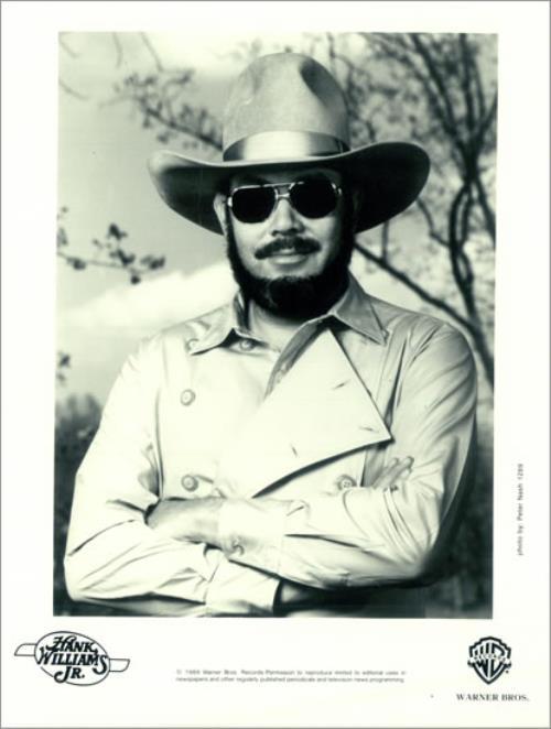 Hank Williams Jr. Lone Wolf 1990 USA press pack PRESS PACK