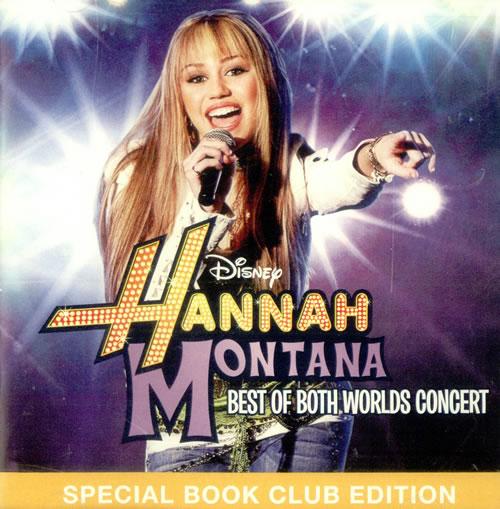 Hannah Montana Best Of Both World Concert 2008 USA CD album D000229102