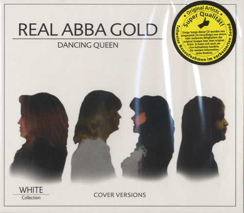 The Real ABBA Gold Dancing Queen 2010 Dutch 2CD album set WHITE242