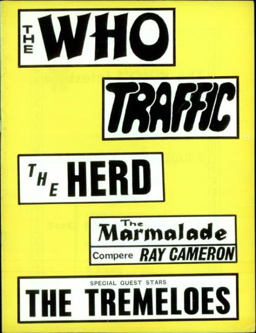 1967 Tour Programme