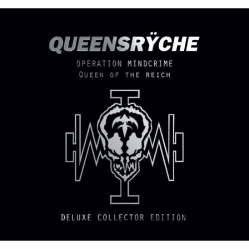 Queensryche Operation Mindcrime/Queen Of The Reich 2004 French 2-CD album set AX040590