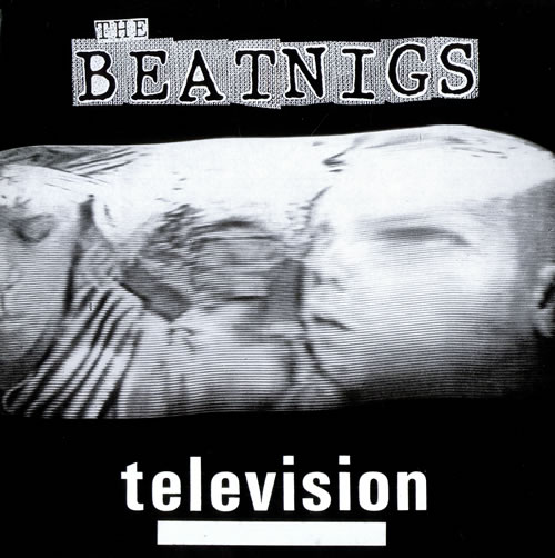 The Beatnigs Television 1988 UK 12 vinyl VIRUS71T