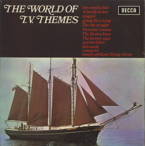 VariousFilm Radio Theatre & TV The World Of T.V. Themes 1972 UK vinyl LP SPA217