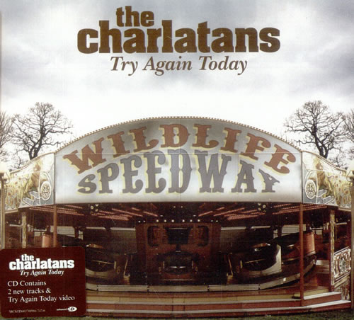 Image of The Charlatans (UK) Try Again Today 2004 UK CD single MCSTD40370