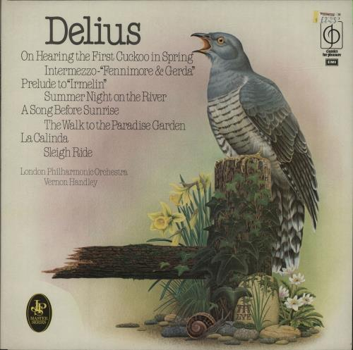 Image of Frederick Delius Delius Orchestral Works 1979 UK vinyl LP CFP40304