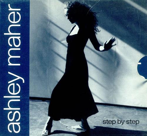 Ashley Maher Step By Step 1990 UK CD single VSCDX1253