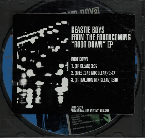 Beastie Boys - Root Down LP