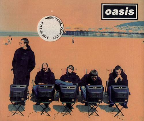 Oasis Roll With It 1995 UK CD single CRESCD212P