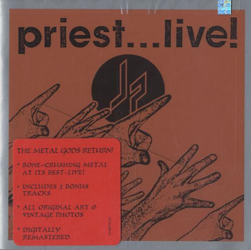 Judas Priest - Priest... Live! - Sealed