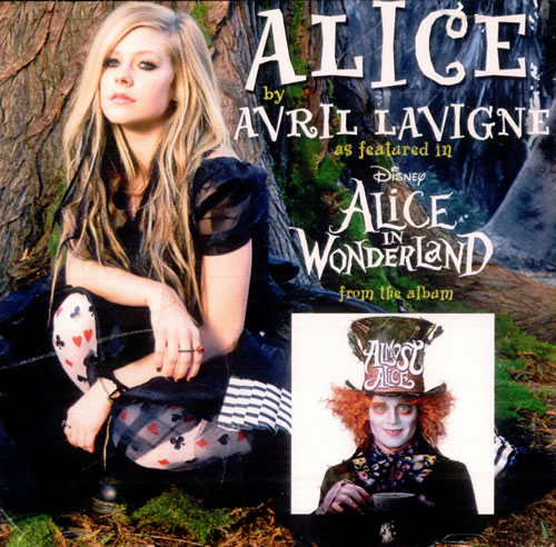 Avril Lavigne Alice 2010 Japanese CDR acetate CDR ACETATE