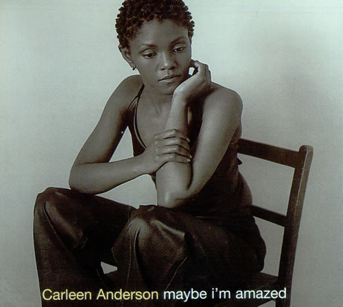 Image of Carleen Anderson Maybe I'm Amazed 1998 UK CD single YRCD128