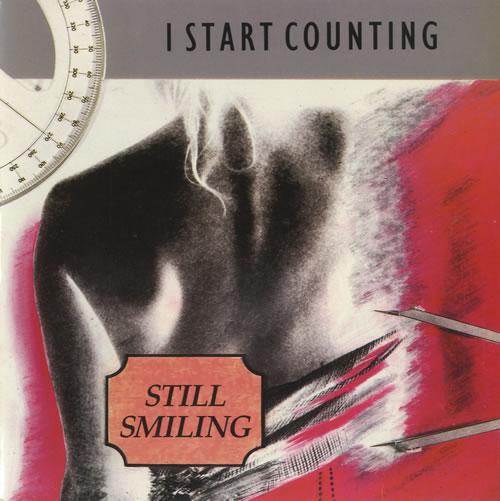 "Image of I Start Counting Still Smiling 1985 UK 7"" vinyl MUTE35"