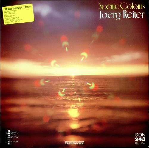 Joerg Reiter Scenic Colours German vinyl LP SON243