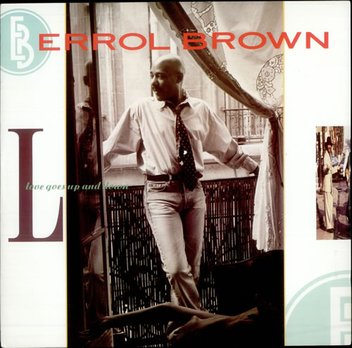 "Image of Errol Brown Love Goes Up And Down 1989 UK 12"" vinyl YZ340T"
