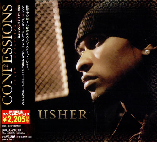 Usher Confessions 2004 Japanese CD album BVCA24019