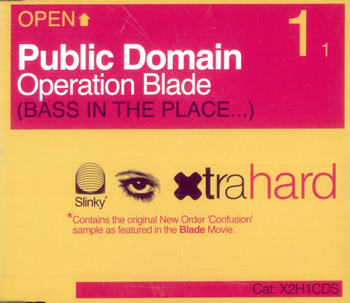 Public Domain Operation Blade 2000 UK CD single X2H1CDS