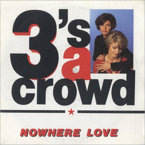 3S A Crowd Nowhere Love 1991 UK 7 vinyl PO183