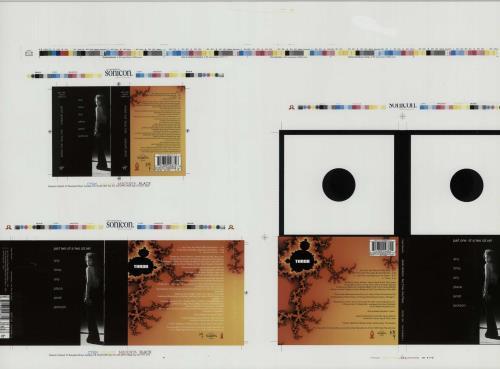 Janet Jackson Throb  Cassette & CD Artwork 1993 UK artwork PROOF ARTWORK