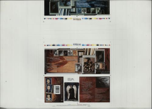 BBM Proof Artwork For Cassette Release 1994 UK artwork PROOF ARTWORK