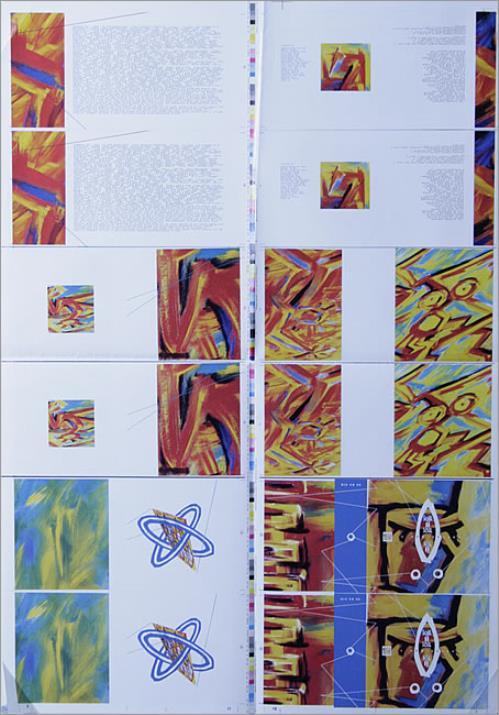Soul II Soul Vol II  quantity of sheets 1992 UK artwork PROOF ARTWORK