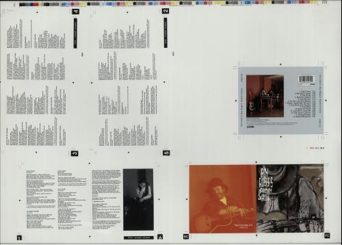 Roy Rogers (Blues) Rhythm & Groove  Artwork 1996 UK artwork PROOF ARTWORK