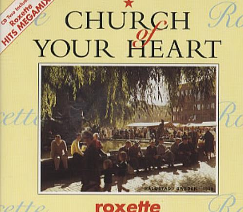 Roxette Church Of Your Heart  2nd 1992 UK CD single CDEMS227