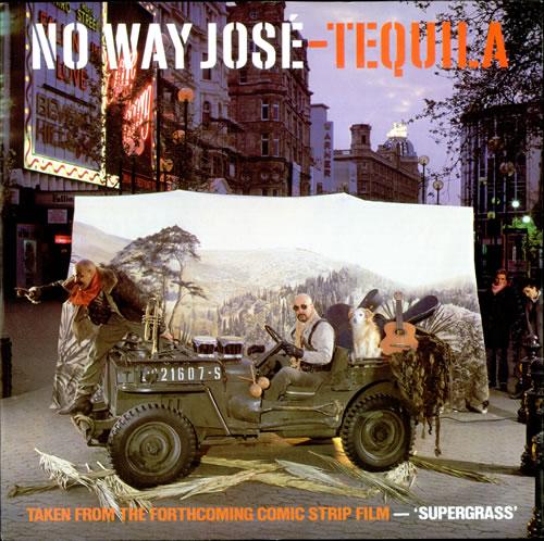 No Way Jose Tequila 1985 UK 12 vinyl 12BRW28
