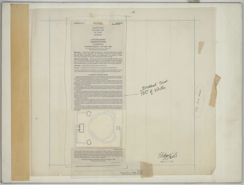 Brian Eno On Land  Ambient 4  Three Pieces of Artwork 1986 UK artwork PROOF ARTWORK